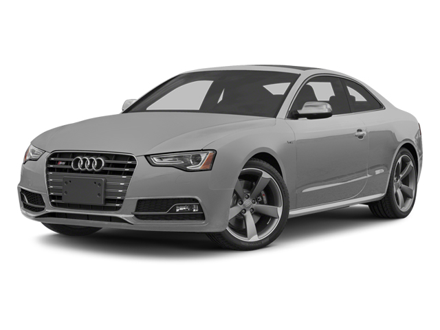 Ice Silver Metallic 2014 Audi S5 Pictures S5 Coupe 2D S5 Premium Plus AWD photos front view
