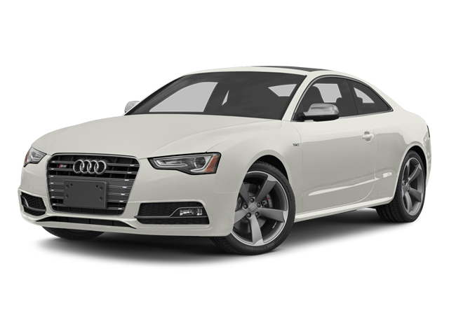 Ibis White 2014 Audi S5 Pictures S5 Coupe 2D S5 Premium Plus AWD photos front view