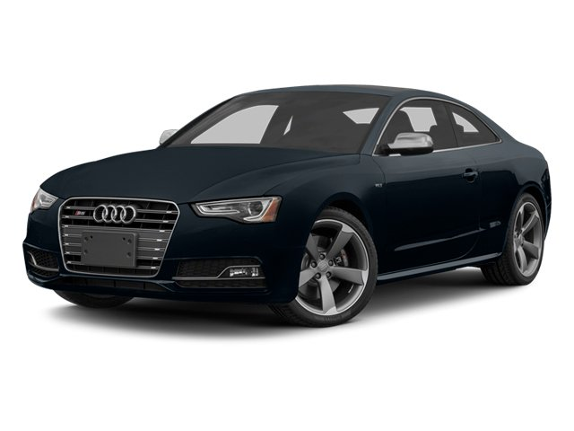 Moonlight Blue Metallic 2014 Audi S5 Pictures S5 Coupe 2D S5 Premium Plus AWD photos front view