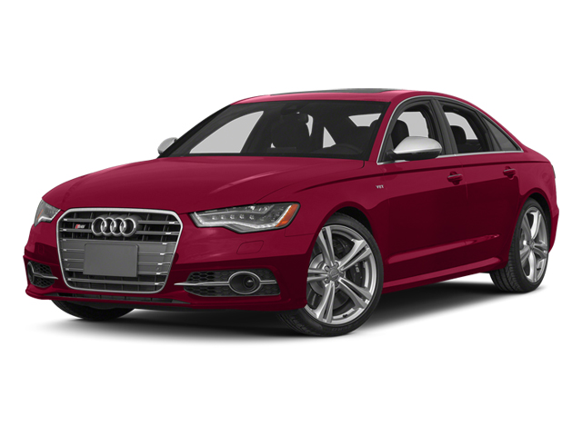 Garnet Red Pearl Effect 2014 Audi S6 Pictures S6 Sedan 4D S6 Prestige AWD photos front view