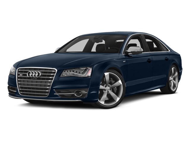 Night Blue Pearl Effect 2014 Audi S8 Pictures S8 Sedan 4D S8 AWD V8 Turbo photos front view