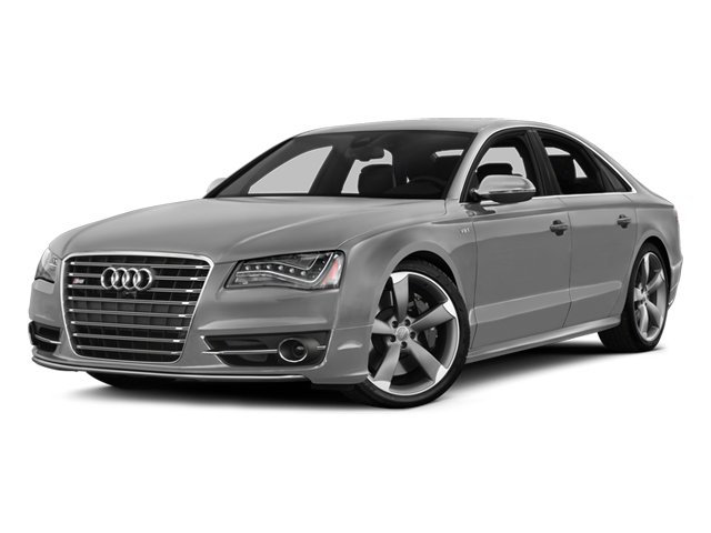 Ice Silver Metallic 2014 Audi S8 Pictures S8 Sedan 4D S8 AWD V8 Turbo photos front view