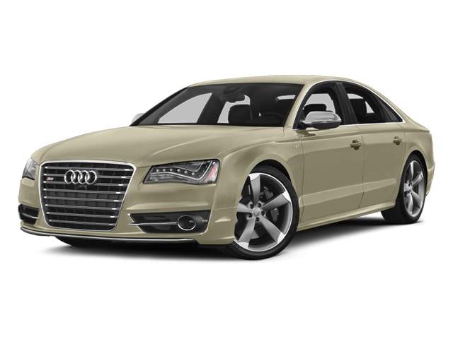 Savana Beige Pearl Effect 2014 Audi S8 Pictures S8 Sedan 4D S8 AWD V8 Turbo photos front view