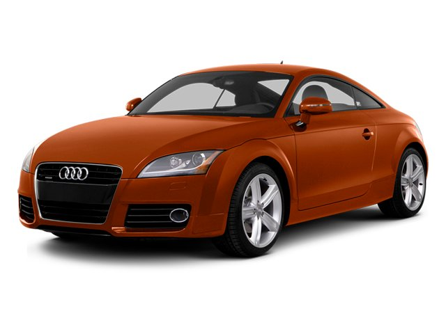 Volcano Red Metallic 2014 Audi TT Pictures TT Coupe 2D AWD photos front view