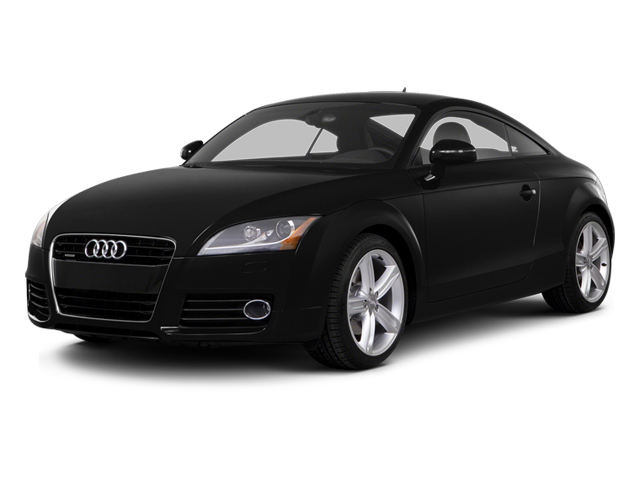 Phantom Black Pearl Effect 2014 Audi TT Pictures TT Coupe 2D AWD photos front view
