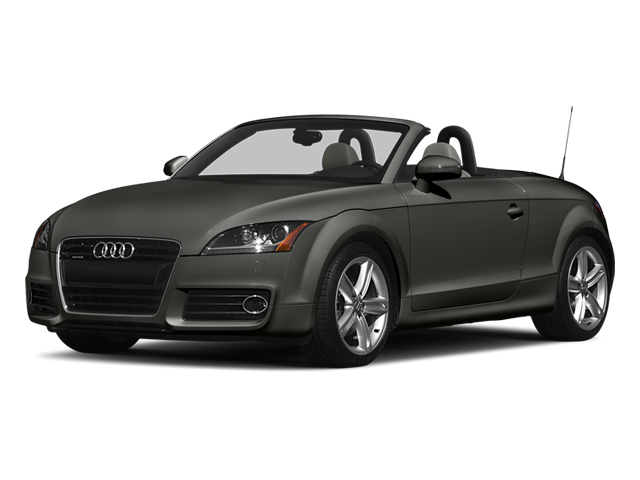 Daytona Gray Pearl Effect/Black Roof 2014 Audi TT Pictures TT Roadster 2D AWD photos front view