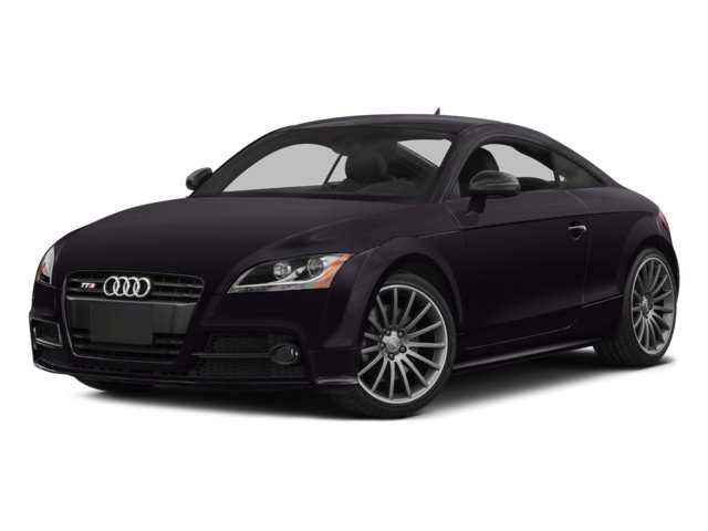 Panther Black Crystal Effect 2014 Audi TTS Pictures TTS Coupe 2D AWD photos front view