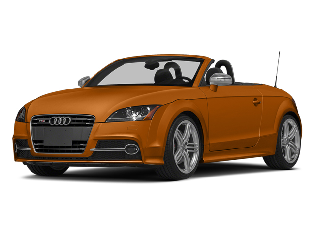 Samoa Orange Metallic/Black Roof 2014 Audi TTS Pictures TTS Roadster 2D AWD photos front view