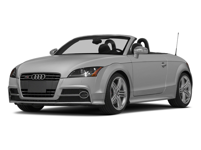 Ice Silver Metallic/Black Roof 2014 Audi TTS Pictures TTS Roadster 2D AWD photos front view