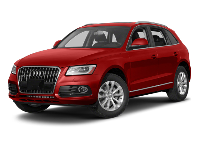 Volcano Red Metallic 2014 Audi Q5 Pictures Q5 Utility 4D TDI Prestige S-Line AWD photos front view