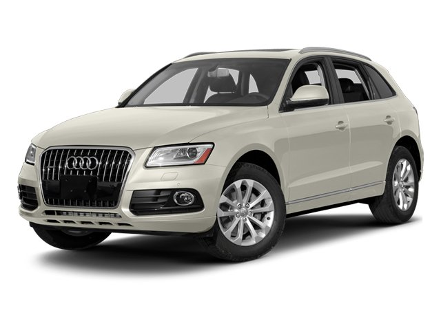 Ice Silver Metallic 2014 Audi Q5 Pictures Q5 Util 4D TDI Premium Plus S-Line AWD photos front view