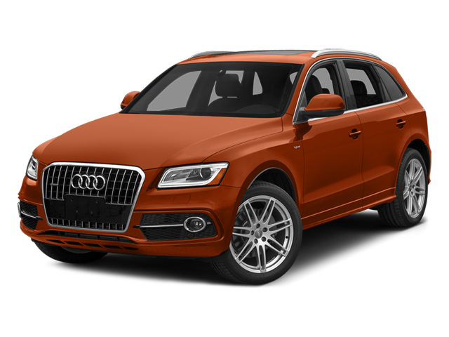 Volcano Red Metallic 2014 Audi Q5 Pictures Q5 Utility 4D 2.0T Prestige AWD Hybrid photos front view