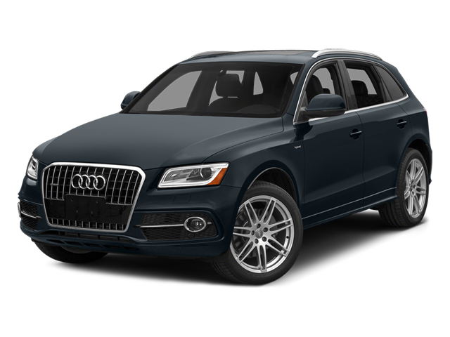 Moonlight Blue Metallic 2014 Audi Q5 Pictures Q5 Utility 4D 2.0T Prestige AWD Hybrid photos front view