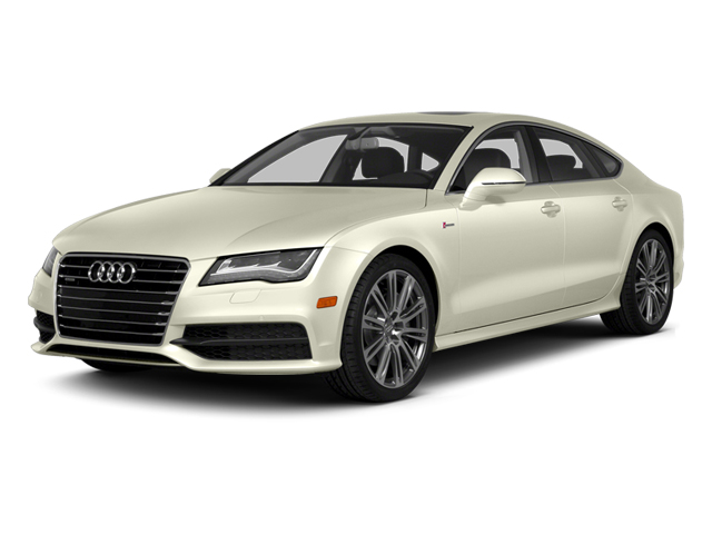 Glacier White Metallic 2014 Audi A7 Pictures A7 Sedan 4D TDI Prestige AWD T-Diesel photos front view