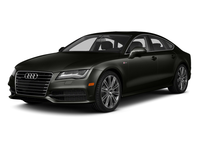 Havanna Black Metallic 2014 Audi A7 Pictures A7 Sedan 4D 3.0T Prestige AWD photos front view