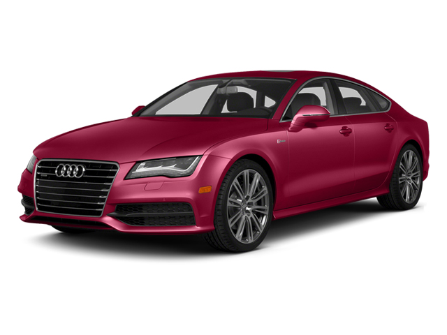 Garnet Red Pearl Effect 2014 Audi A7 Pictures A7 Sedan 4D TDI Prestige AWD T-Diesel photos front view