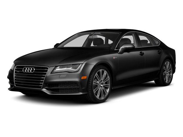 Brilliant Black 2014 Audi A7 Pictures A7 Sedan 4D 3.0T Prestige AWD photos front view