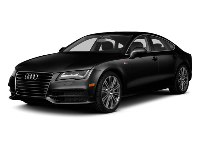 Phantom Black Pearl Effect 2014 Audi A7 Pictures A7 Sedan 4D TDI Prestige AWD T-Diesel photos front view
