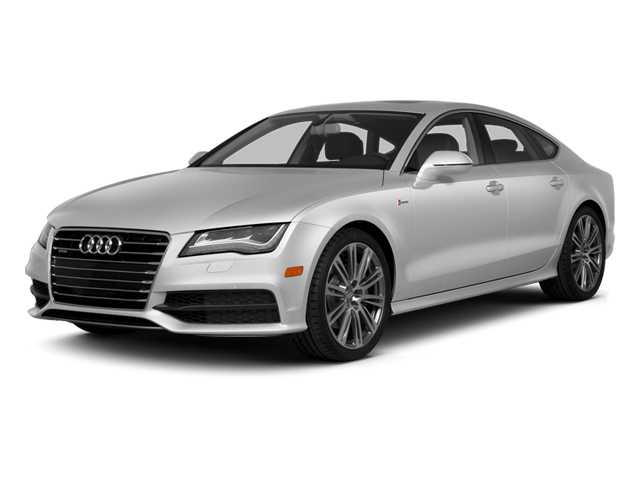 Ice Silver Metallic 2014 Audi A7 Pictures A7 Sedan 4D 3.0T Prestige AWD photos front view