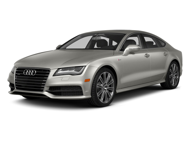 Quartz Gray Metallic 2014 Audi A7 Pictures A7 Sedan 4D 3.0T Prestige AWD photos front view