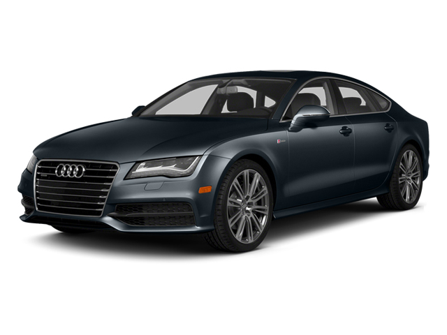 Moonlight Blue Metallic 2014 Audi A7 Pictures A7 Sedan 4D 3.0T Prestige AWD photos front view