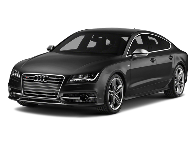 Phantom Black Pearl Effect 2014 Audi S7 Pictures S7 Sedan 4D S7 Prestige AWD V8 photos front view