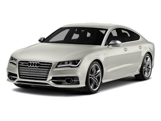 Ibis White 2014 Audi S7 Pictures S7 Sedan 4D S7 Prestige AWD V8 photos front view