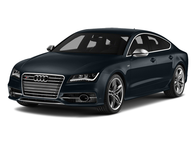 Moonlight Blue Metallic 2014 Audi S7 Pictures S7 Sedan 4D S7 Prestige AWD V8 photos front view