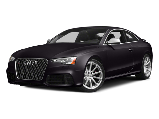 Panther Black Crystal Effect 2014 Audi RS 5 Pictures RS 5 Coupe 2D RS5 AWD V8 photos front view