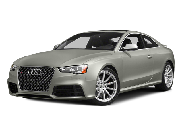 Prism Silver Crystal Effect 2014 Audi RS 5 Pictures RS 5 Coupe 2D RS5 AWD V8 photos front view