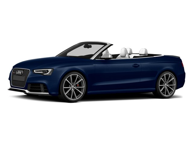 Estoril Blue Crystal Effect/Black Roof 2014 Audi RS 5 Pictures RS 5 Convertible 2D RS5 AWD V8 photos front view