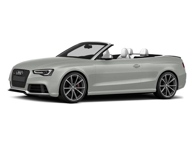 Suzuka Gray Metallic/Black Roof 2014 Audi RS 5 Pictures RS 5 Convertible 2D RS5 AWD V8 photos front view