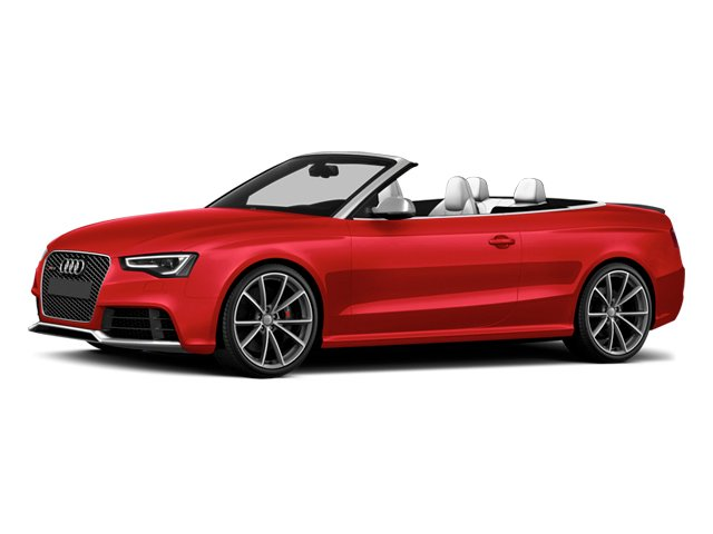 Misano Red Pearl Effect/Black Roof 2014 Audi RS 5 Pictures RS 5 Convertible 2D RS5 AWD V8 photos front view