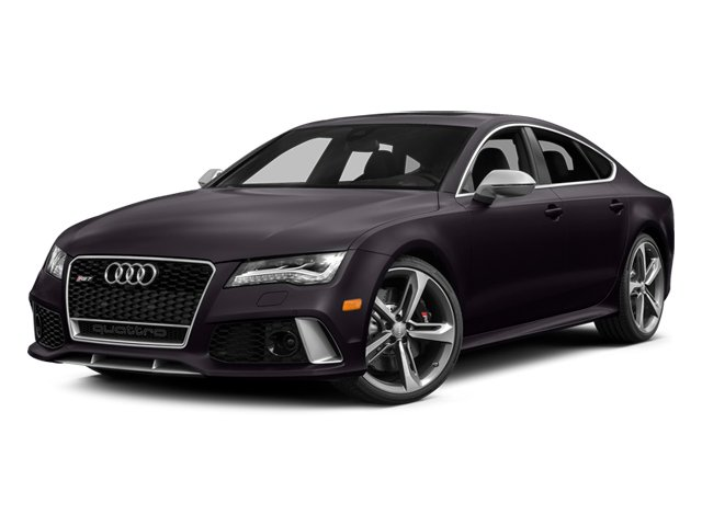 Panther Black Crystal Effect 2014 Audi RS 7 Pictures RS 7 Sedan 4D Prestige AWD photos front view