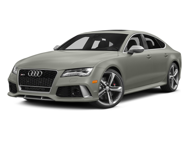 Prism Silver Crystal Effect 2014 Audi RS 7 Pictures RS 7 Sedan 4D Prestige AWD photos front view
