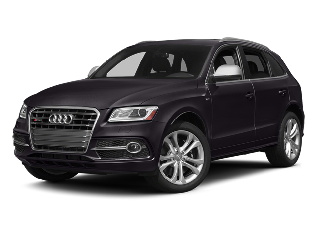 Panther Black Crystal Effect 2014 Audi SQ5 Pictures SQ5 Utility 4D Premium Plus AWD V6 photos front view