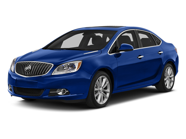 Luxo Blue Metallic 2014 Buick Verano Pictures Verano Sedan 4D Leather I4 photos front view