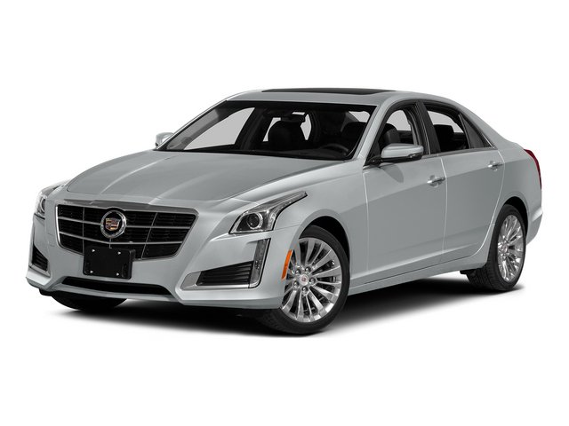 Radiant Silver Metallic 2014 Cadillac CTS Sedan Pictures CTS Sedan 4D Performance V6 photos front view