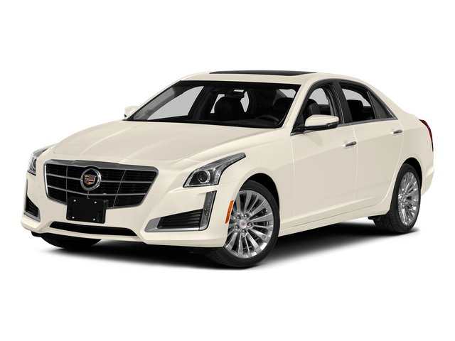 White Diamond Tricoat 2014 Cadillac CTS Sedan Pictures CTS Sedan 4D Performance V6 photos front view