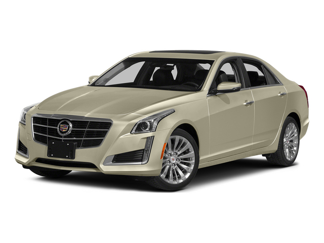 Silver Coast Metallic 2014 Cadillac CTS Sedan Pictures CTS Sedan 4D Performance V6 photos front view