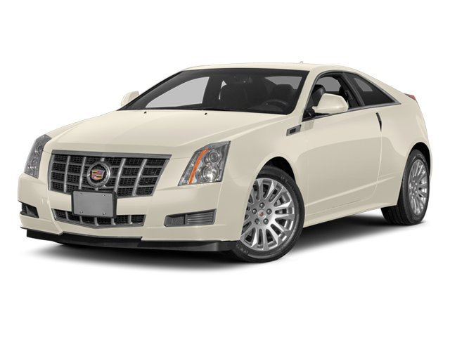 White Diamond Tricoat 2014 Cadillac CTS Coupe Pictures CTS Coupe 2D Premium AWD V6 photos front view