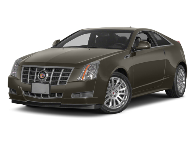 Mocha Steel Metallic 2014 Cadillac CTS Coupe Pictures CTS Coupe 2D Premium AWD V6 photos front view
