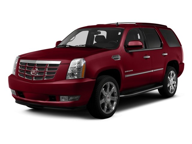 Crystal Red Tintcoat 2014 Cadillac Escalade Pictures Escalade Utility 4D Luxury AWD V8 photos front view