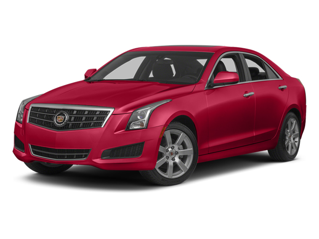 Red Obsession Tintcoat 2014 Cadillac ATS Pictures ATS Sedan 4D Luxury I4 Turbo photos front view