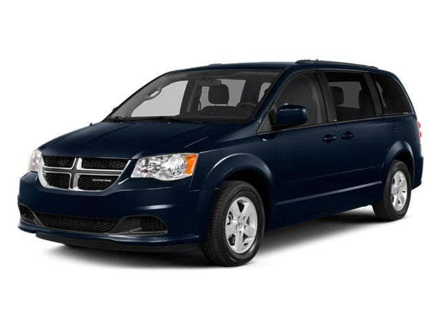 True Blue Pearlcoat 2014 Dodge Grand Caravan Pictures Grand Caravan Grand Caravan SXT V6 photos front view