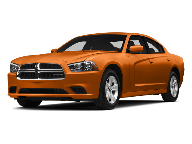 Header Orange Clearcoat 2014 Dodge Charger Pictures Charger Sedan 4D SXT V6 photos front view