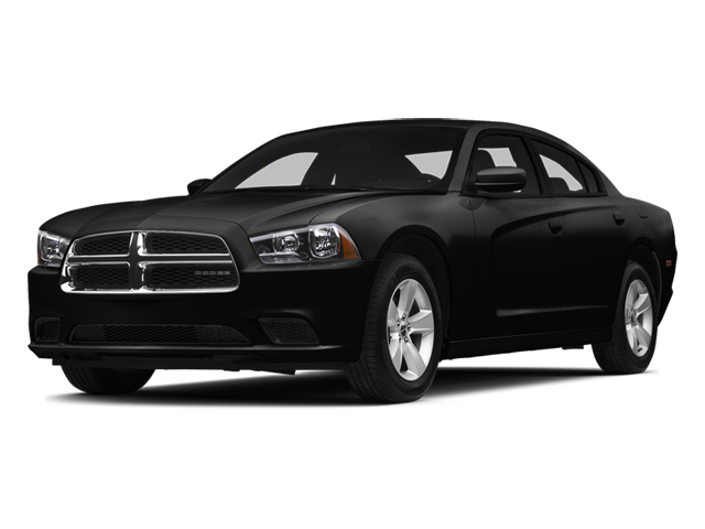 Pitch Black 2014 Dodge Charger Pictures Charger Sedan 4D SE V6 photos front view
