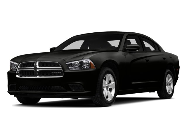 Pitch Black 2014 Dodge Charger Pictures Charger Sedan 4D SE AWD V6 photos front view