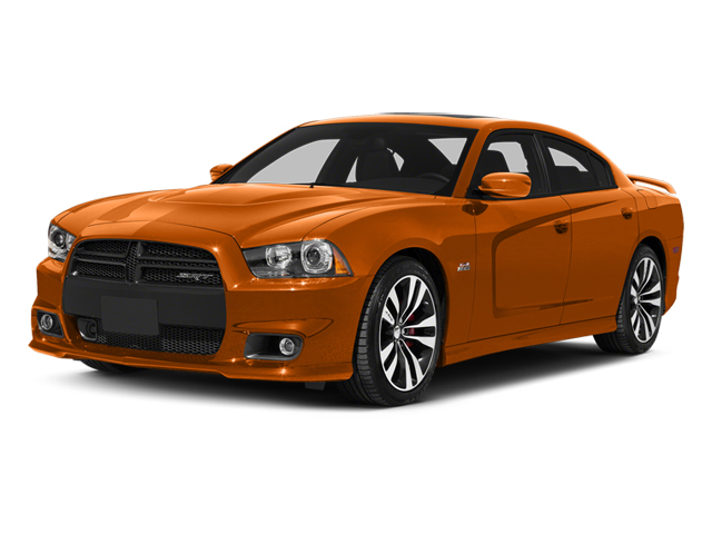Header Orange Clearcoat 2014 Dodge Charger Pictures Charger Sedan 4D SRT-8 V8 photos front view