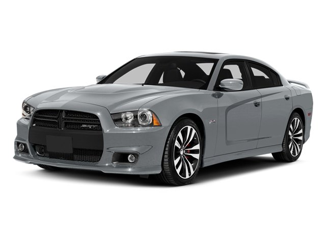 Billet Silver Metallic Clearcoat 2014 Dodge Charger Pictures Charger Sedan 4D SRT-8 V8 photos front view